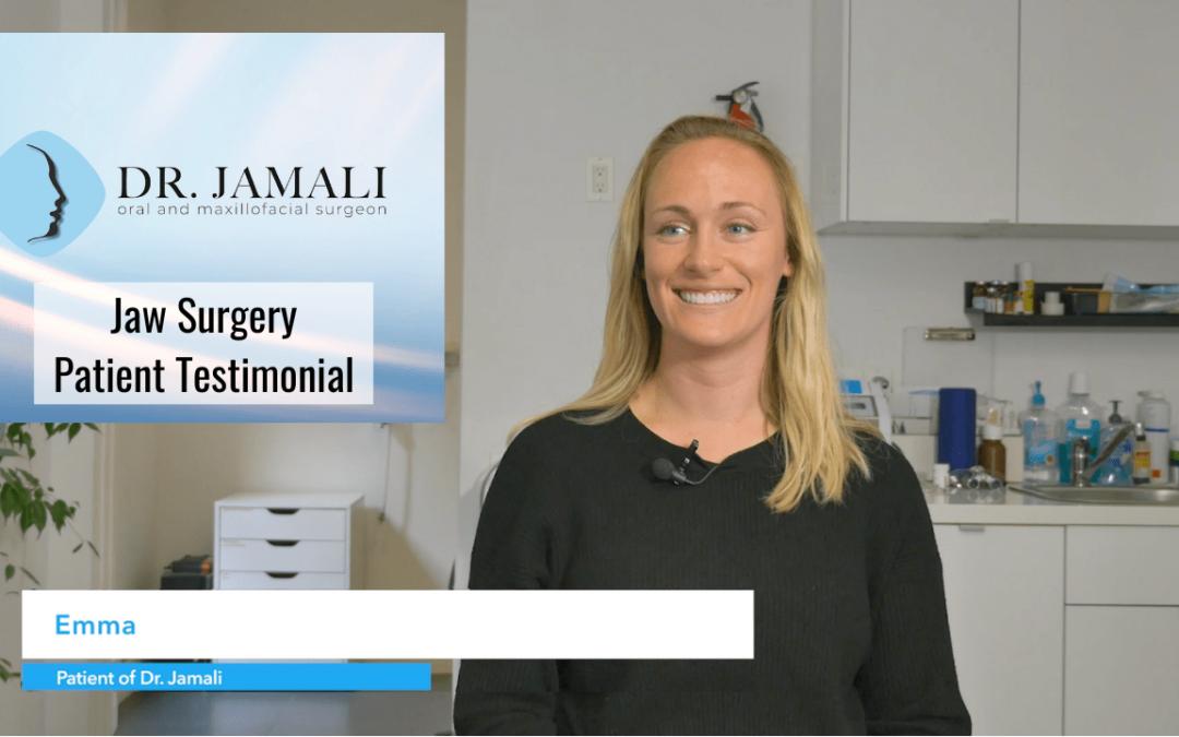 Jaw Surgery Patient Testimonial